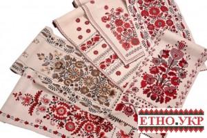 Правила вишивки весільних рушників