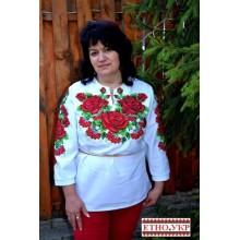 """Заготовка жіночої блузки під вишивку """"Мелодія квітів"""""""