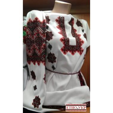 """Заготовка жіночої блузки під вишивку """"Зірки в орнаменті"""""""
