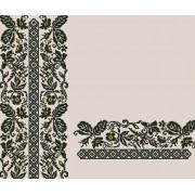 """Заготовка жіночої блузки під вишивку """"Сокальські мотиви"""" (переплетені квіти)"""