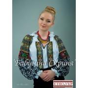 """Заготовка жіночої блузки під вишивку """"Борщівська"""""""