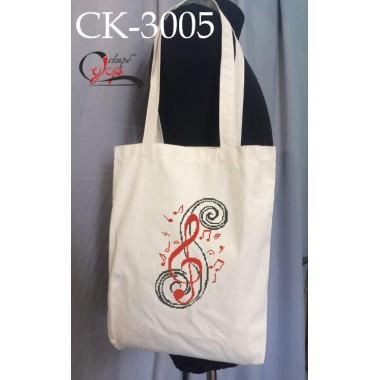 """Еко-сумка під вишивку """"Скрипічний ключ"""""""