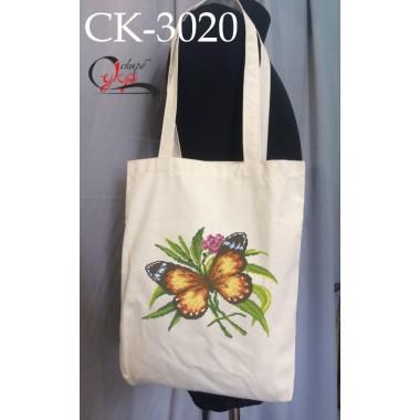 """Еко-сумка під вишивку """"Метелик"""""""