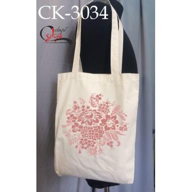 """Еко-сумка під вишивку """"Квітковий клубок"""""""