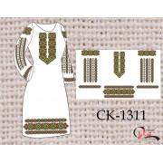 """Заготовка плаття під вишивку """"Весняний орнамент"""""""