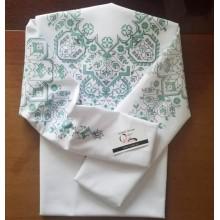 """Заготовка жіночої блузки під вишивку """"Візерункове намисто"""" (варіант 2)"""