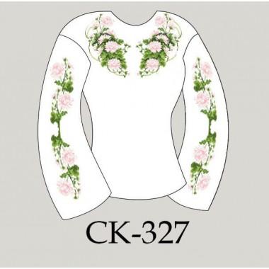 """Заготовка жіночої блузки під вишивку """"Хризантеми"""""""